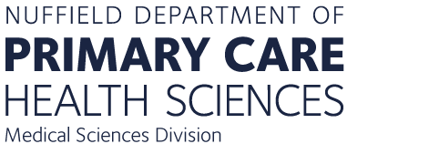 Department of Primary Care Health Sciences