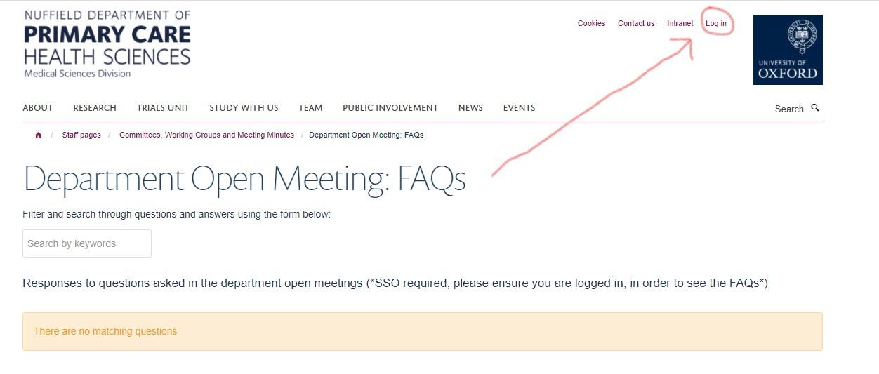 Access FAQ