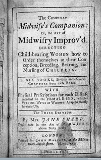 The Complete Midwife's Companion, by Jane Sharp