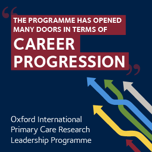 Oxford International Primary Care Research Leadership Programme